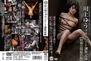 [BDSM 033] 川上ゆうプライベート調教記録 シリーズ日本のマゾ女 鏡子Vol.9 特別公開撮影編
