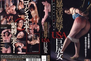 [CN-477] 暴淫暴辱・USA巨尻女