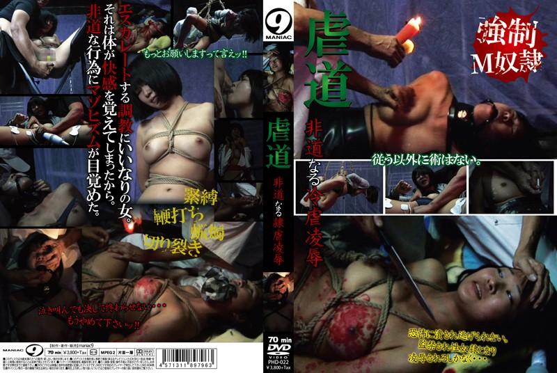 [PHD-022] 虐道 非道なる冷虐凌辱 Torture マニア9 調教