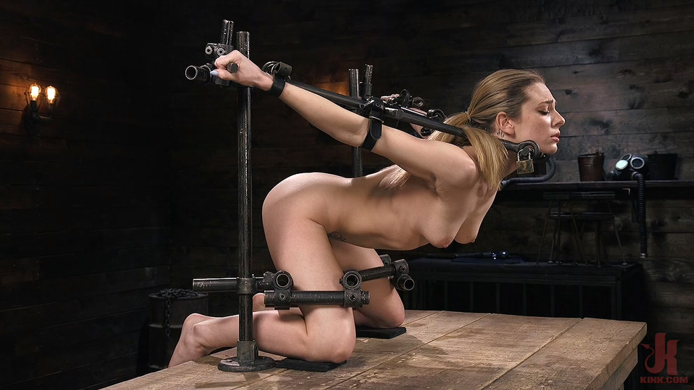 Dahlia Sky – Blonde Damsel is Distressed in Brutal Devices and Tormented