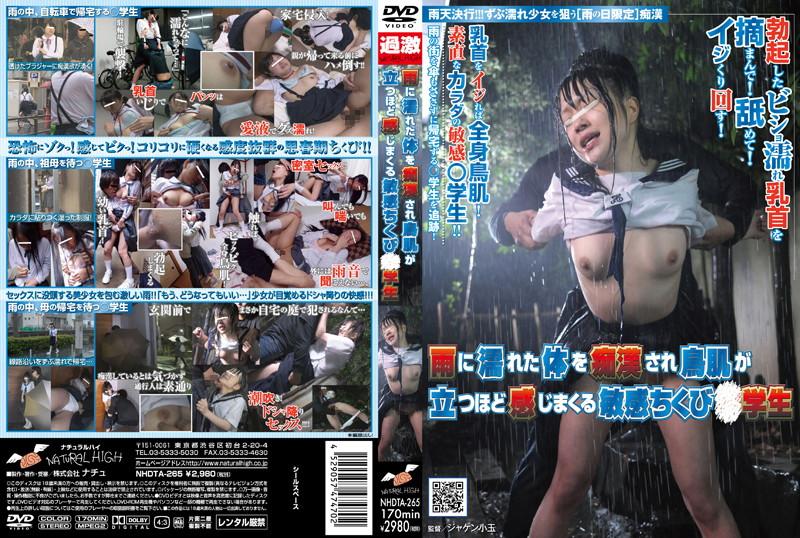 [NHDTA-265] 雨に濡れた体を痴漢され鳥肌が立つほど感じまくる敏感ちくび○学生 凌辱 ロリ系 その他痴漢 レイプ 着衣 Rape Squirting