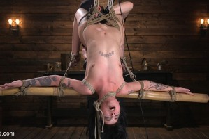 Submissive Goth Girl is Bound, Tormented, and Made to Cum   Charlotte Sartre