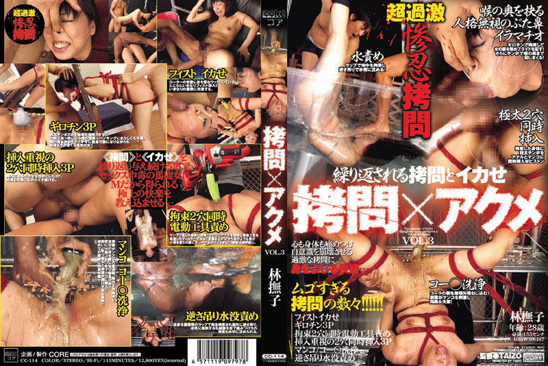 [CC-114] 拷問Xアクメ  3 企画 115分 Squirting