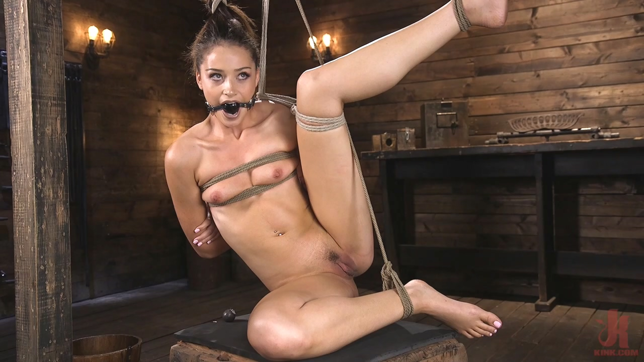 Petite Slut Avi Love Is Bound, Tormented, And Made To Cum