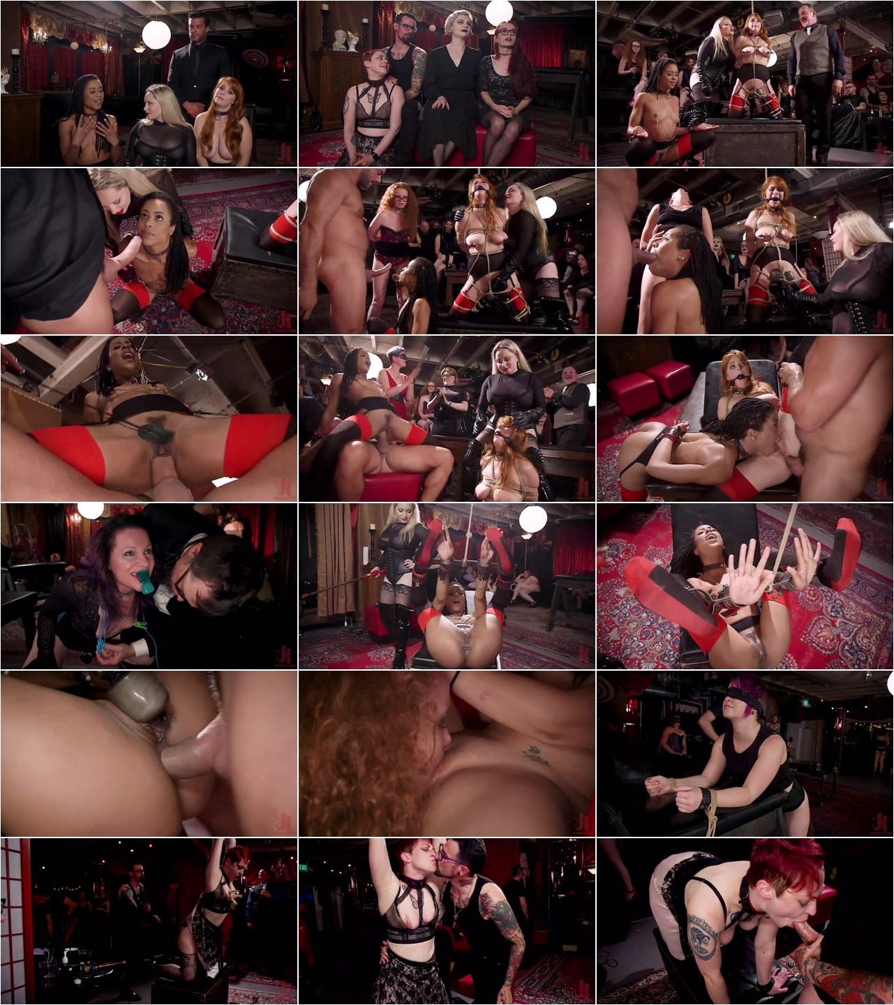 Aiden Starr, Kira Noir, Penny Pax - The Selfish Anal Slut and The Selfless Electro Servant.mp4