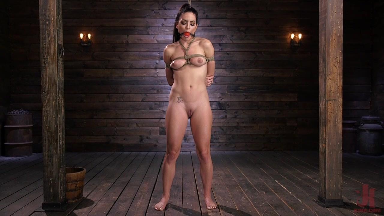 Kissa Sins is Dominated in Grueling Bondage