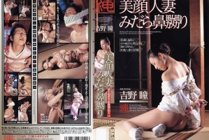 [BA 041] 濡木痴夢男・緊縛秘伝【十二】 美顔人妻みだら鼻嬲り SM 縄【ジョウ】