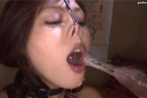 [GEDO-0079] 東京熱 外道魂 後藤久美子似の南ちゃん再降臨。神々しい鼻フックで美形が強調され親方プライベート調教で百叩きに本気泣き後の達磨縛りFUCKに真性M嬢として外道女衆入りする。