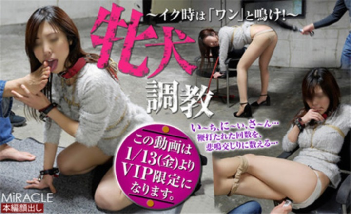 [Sm_miracle-0842] 紀香 (のりか)「牝犬調教 ~イク時は「ワン」と鳴け!~」