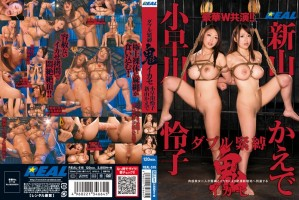 [REAL-516] ダブル緊縛鬼イカセ 小早川怜子 新山かえで Big Tits Squirting Reiko Kobayakawa ドリル Restraint Acme