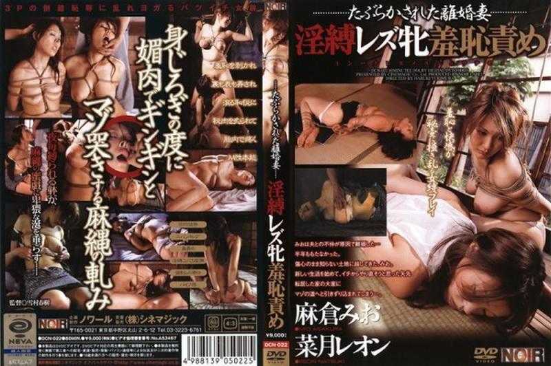 [DCN-022] Rough Bondage 日本のボンデージセックス