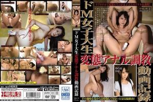[NHD-079] ドM女子大生変態アナル調教動画記録 SM Amateur 女子学生