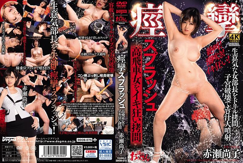 [DDOB-075] 痙攣スプラッシュ 高飛車女をイキ狂い拷問 赤瀬尚子 Golden Showers 潮吹き ドリル 巨乳 中出し