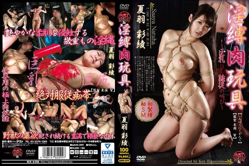 [ADVO-099] 淫縛肉玩具 夏羽彩綾