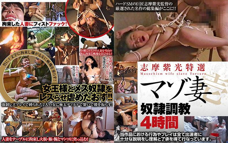 [AXDVD-0265R] Shiko Shima Special Selection, Masochist Wife Bitch, Breaking In 4 Hours